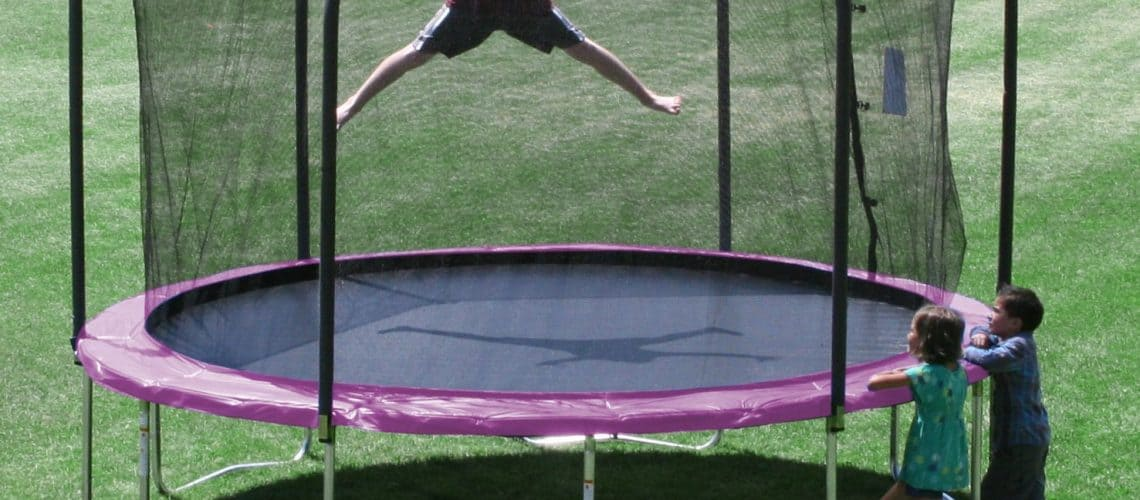 Skywalker Trampolines Round Trampoline With Enclosure 12