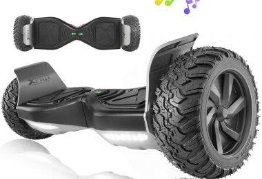 XPRIT Wheel Hoverboard w/Bluetooth Speaker