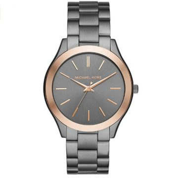 image about Michael Kors Printable Coupons called Rose Gold-Tone and Blush Leather-based Pyper Observe Michael Kors