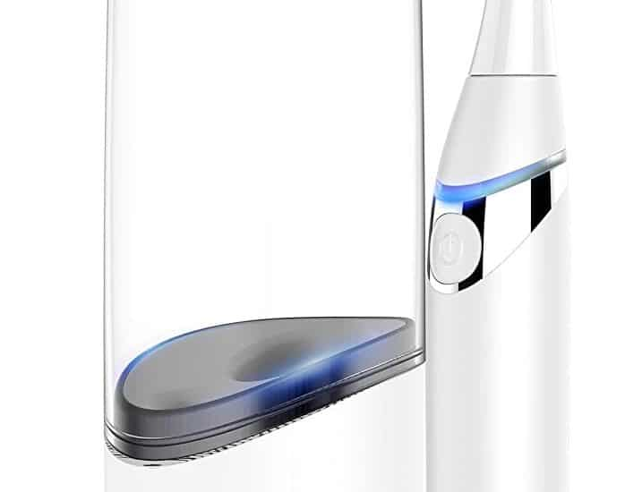 Allegro Travel Electric Toothbrush with UV Sanitizer