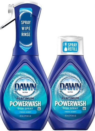 Dawn Platinum Powerwash Dish Spray Starter Kit