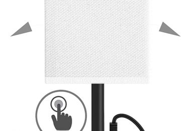 Alimentata Touch Control Bedside Table Lamp